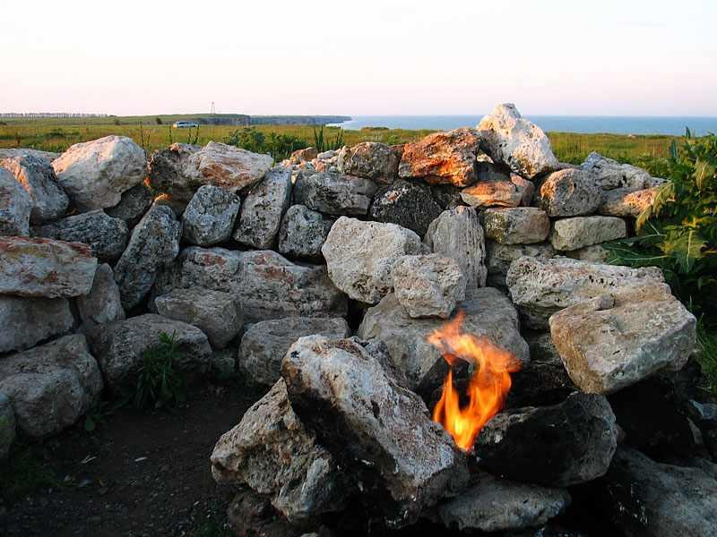 огънчето камен бряг